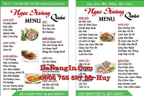 in menu trà sữa cafe quán nhậu tại đà nẵng lấy gấp 0905 755 597 Mr Huy