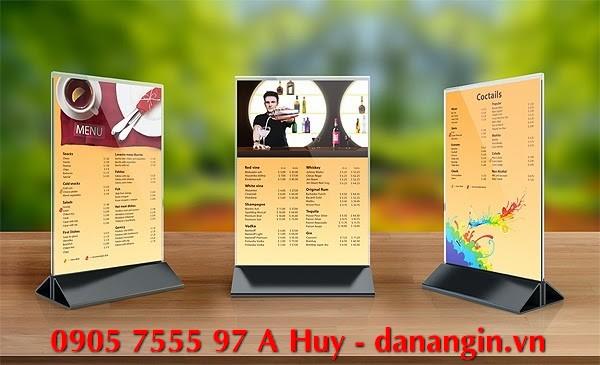 làm menu quán nhậu cafe trà sữa ăn vặt lấy nhanh 0905 755 597 A Huy danangin.vn